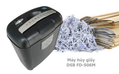 máy hủy tài liệu, máy hủy giấy, máy hủy giấy DSB FD 506M