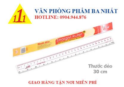 thước dẻo, thước thẳng, thước 30cm, thước thiên long 30cm