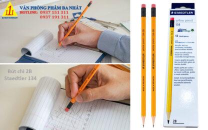 bút chì gỗ, bút chì 2B, bút chì 2B staedtler 134