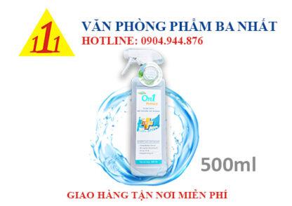 dung dịch rửa tay khô On1 500ml, nước xịt rửa tay khô On1 500ml