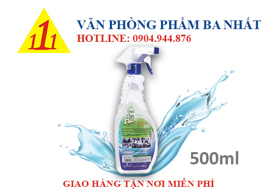 nước rửa tay khô green cross A2 500 ml, dung dịch rửa tay khô green cross A2 500ml