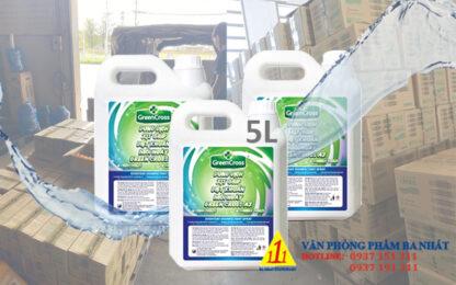 nước rửa tay khô green cross A2 5 lít, dung dịch rửa tay khô green cross A2 5L