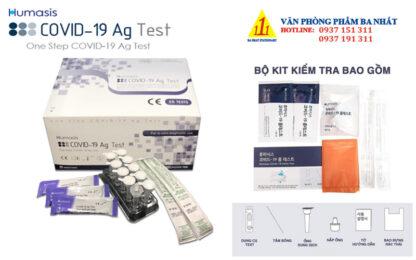 bộ test nhanh covid Humasis Ag, bộ xét nghiệm covid nhanh, bộ kit test covid nhanh, Test nhanh Covid-19 Humasis