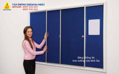 bảng thông tin treo tường, bản thông tin treo tường cửa kính lùa, bảng thông báo, bảng thông tin, mẫu bảng tin đẹp, bảng thông báo đẹp